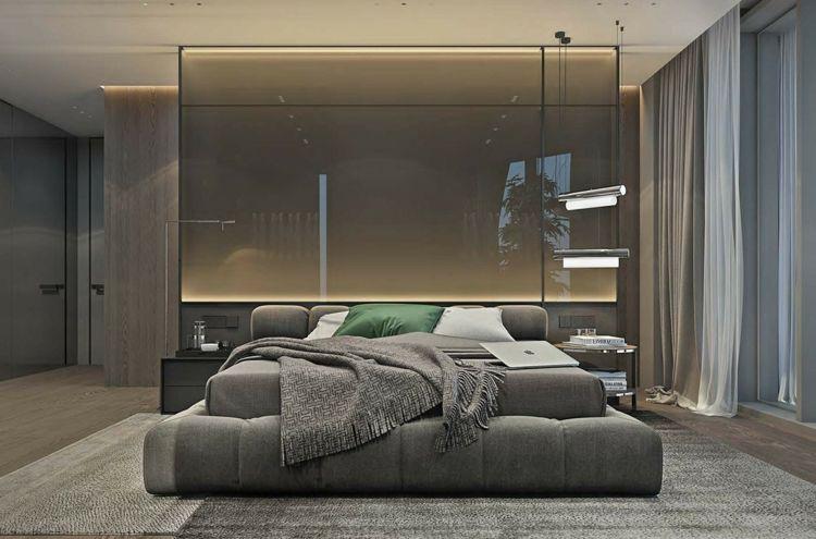 Schlafzimmer Wohnideen ~ Graue möbel für das moderne schlafzimmer wohnideen fürs