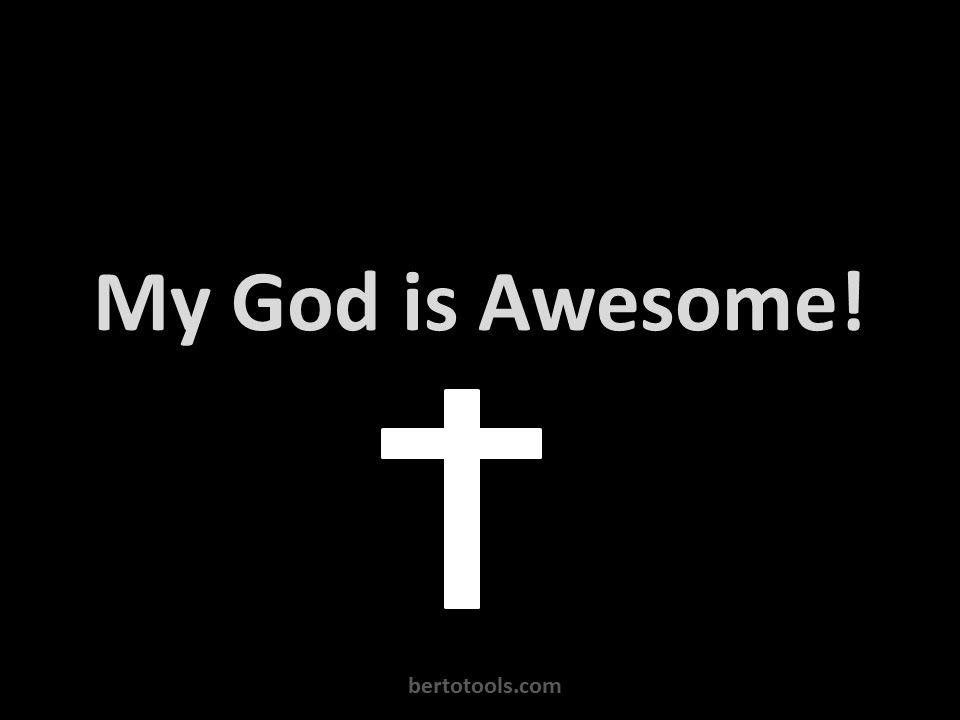 My God is Awesome Vocals Worship Video w/ Lyrics Charles Jenkins ...