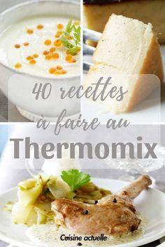 140 recettes à faire au Thermomix