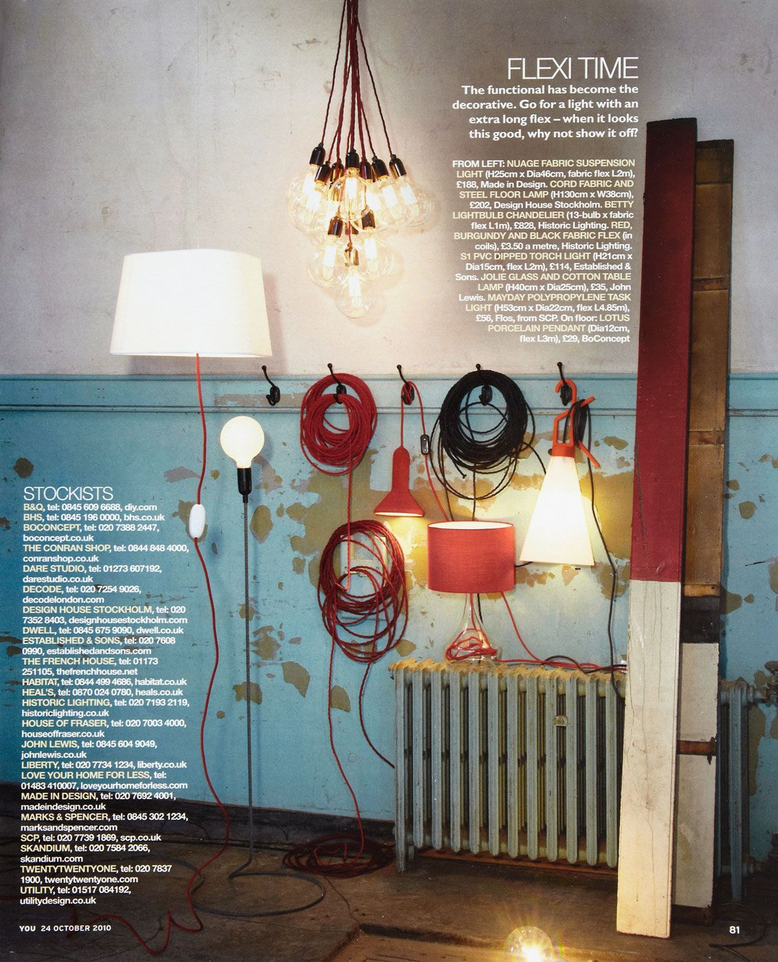 Cord Lamp by Form Us With Love for Design House Stockholm. Also ...