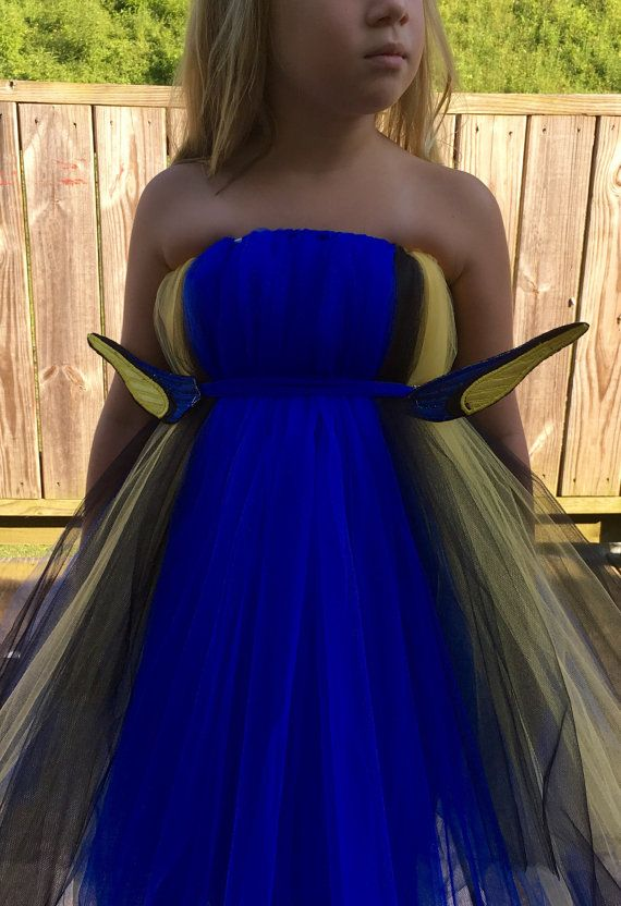 Finding Dory inspired Tutu Dress Dory by TheHairBowGallery