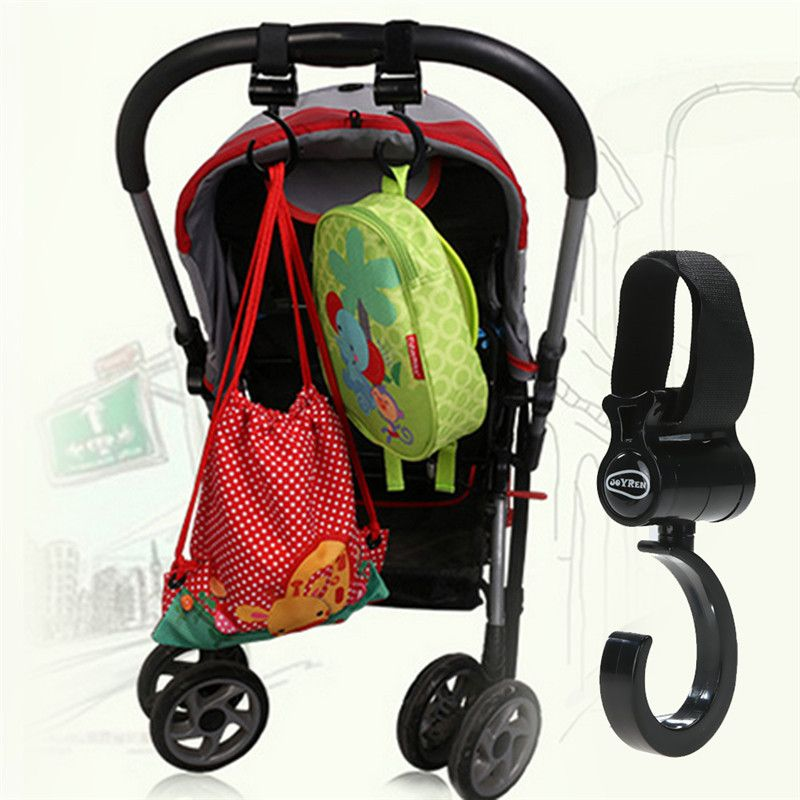 2 Stksset Baby Kinderwagen Kinderwagen Swivel Hanger Haken