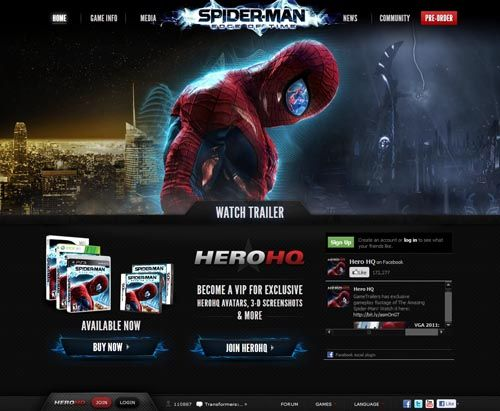 Spiderman Edge Of Time Videogame Movie Websites Pinterest