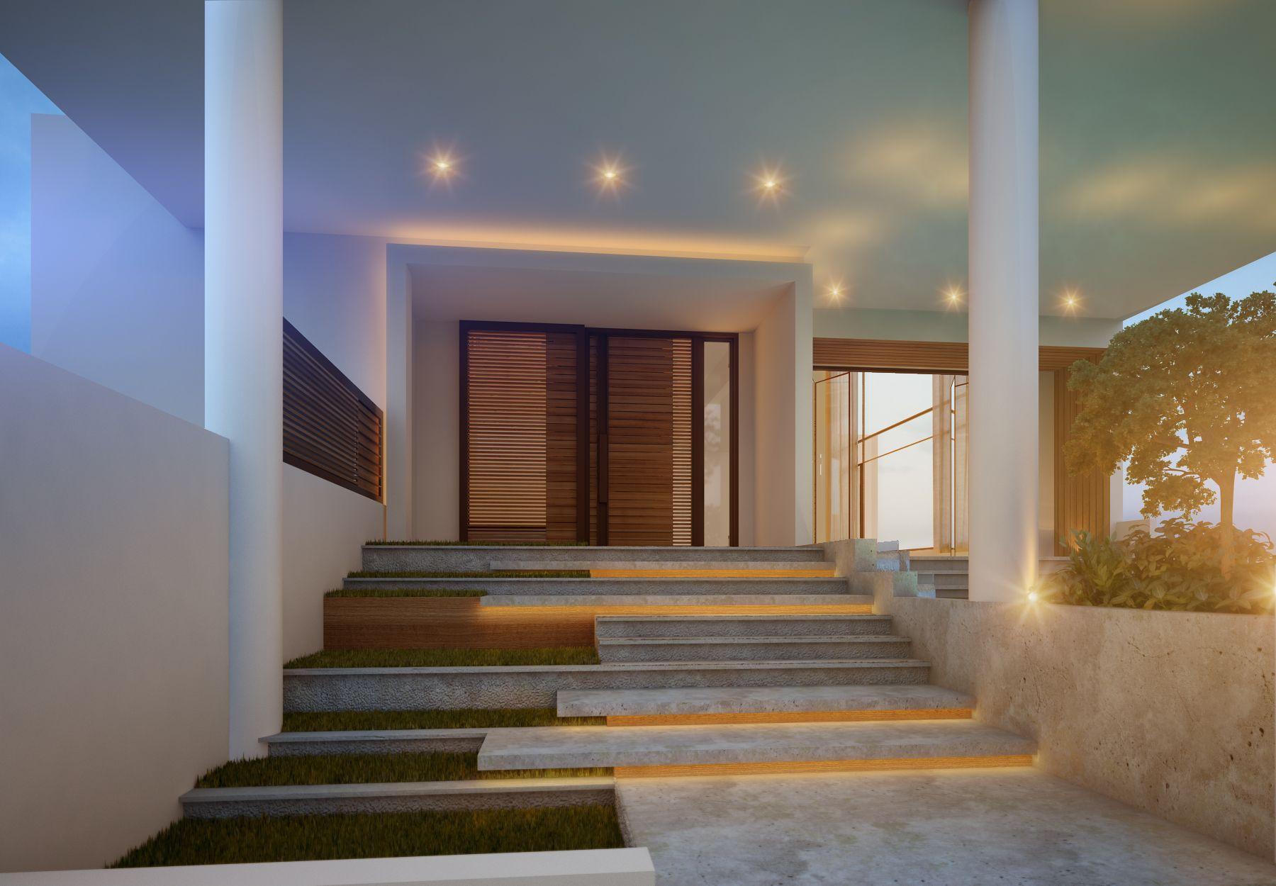 Main entrance 375 m kuwait by sarah sadeq architects