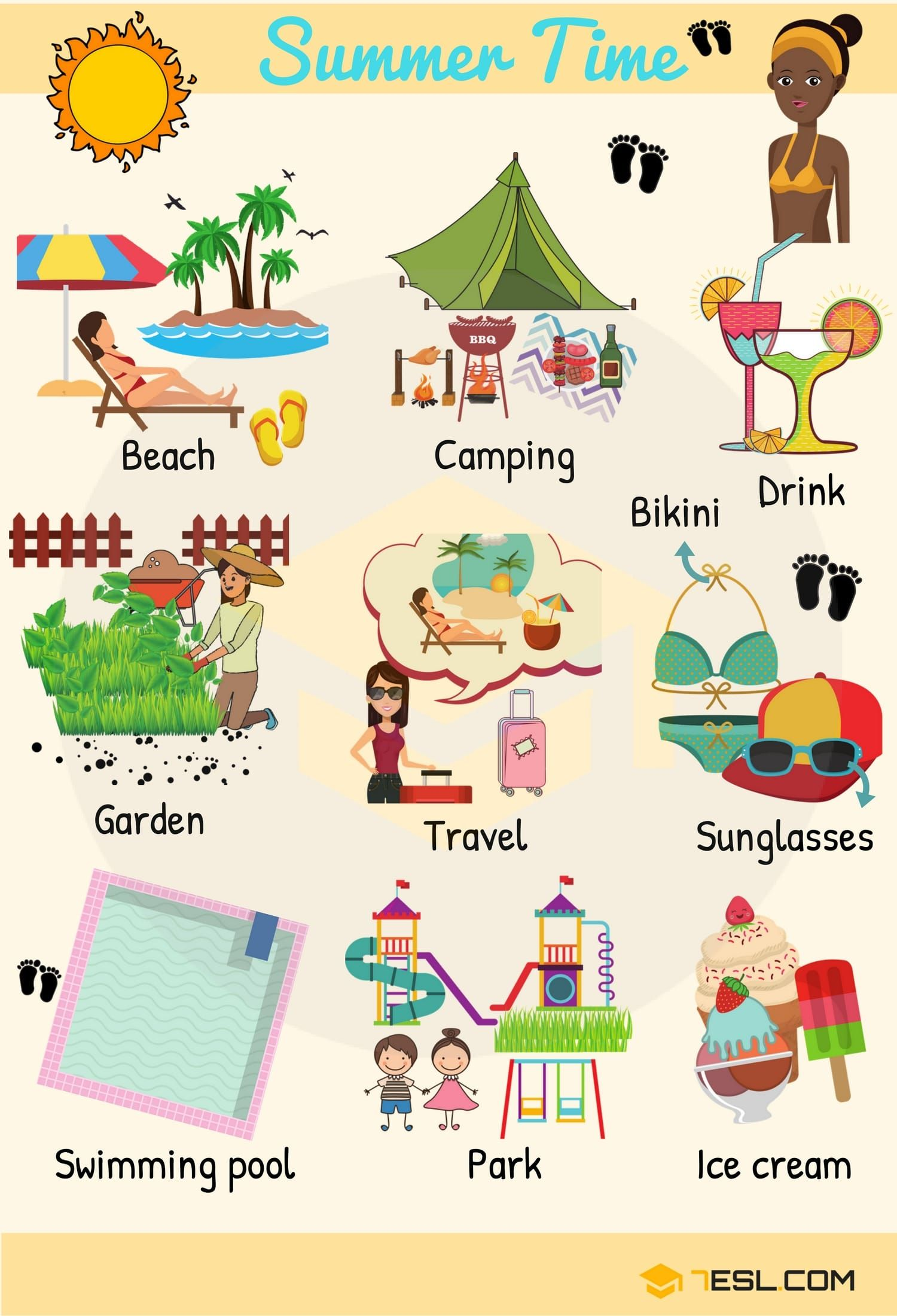 Seasons Vocabulary Learn English Words For Seasons