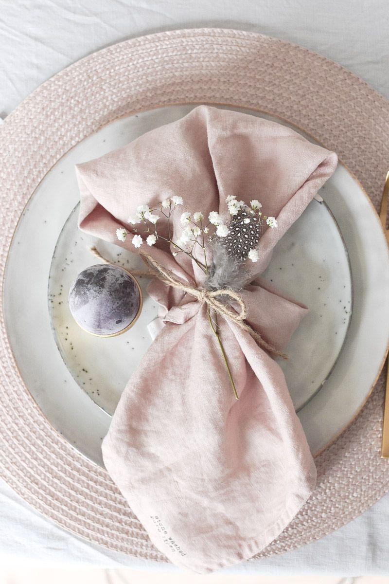 Ostertischdeko und ein eleganter DIY Eierbecher – mikaswohnsinn