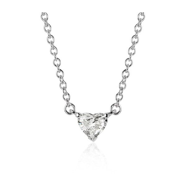 Blue nile heart shaped diamond pendant 1260 liked on polyvore blue nile heart shaped diamond pendant 1260 liked on polyvore featuring jewelry aloadofball