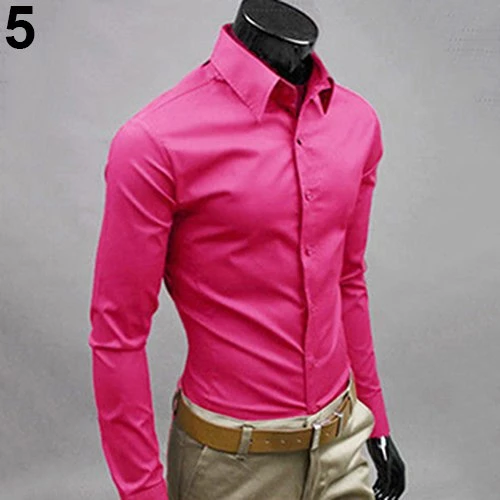 2017 New Men's Fashion Casual Solid Candy Color Long Sleeve Slim Fit Dress Shirt Top -  2017 New Men's Fashion Casual Solid Candy Color Long Sleeve Slim Fit D – geekbuyig  - #Candy #Casual #color #Dress #fashion #Fit #LONG #Mens #shirt #Sleeve #Slim #Solid #StylishMenaccessories #StylishMenandwomen #StylishMenbeautiful #StylishMendpz #StylishMenfootwear #StylishMenlittleboys #StylishMenlonghair #StylishMenvideos #StylishMenwatch #top