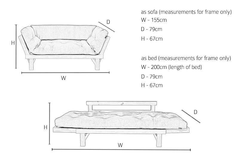 BedPiha Beds Oak Sofa Switch DesignBedFolding N80nvmw