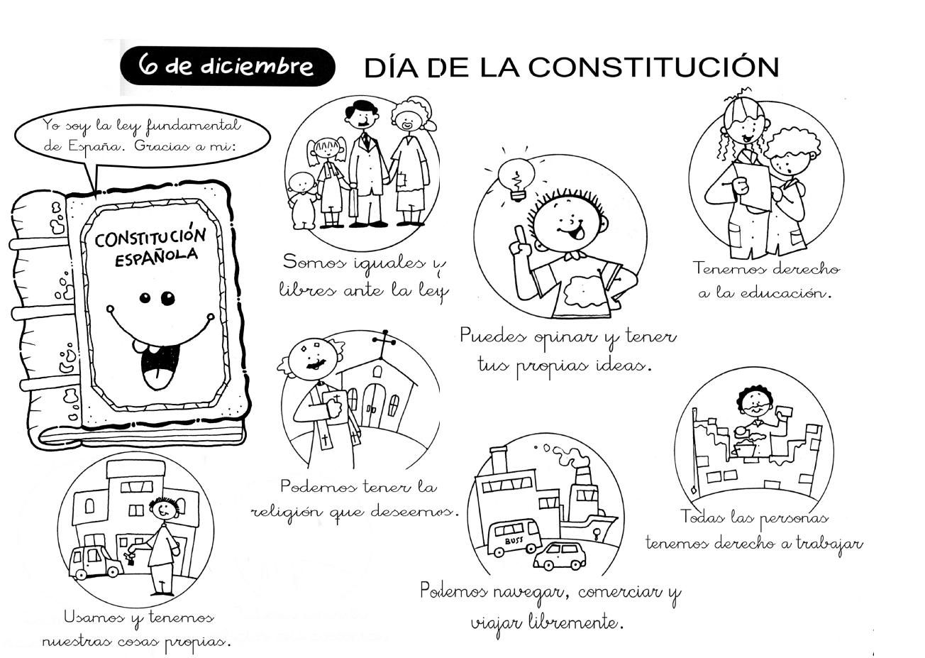 Constitucion Jpg 1 304 927 Pixeles Constitucion Para Ninos Dia De La Constitucion Constitucion Mexicana Para Ninos