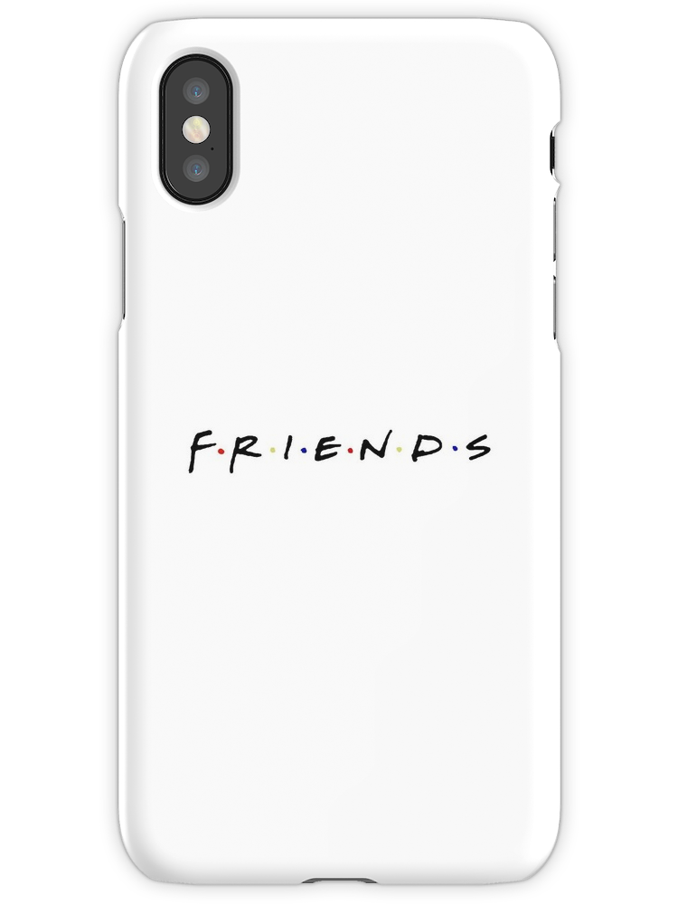 'Friends Phone Case' iPhone Case by ElenaLark