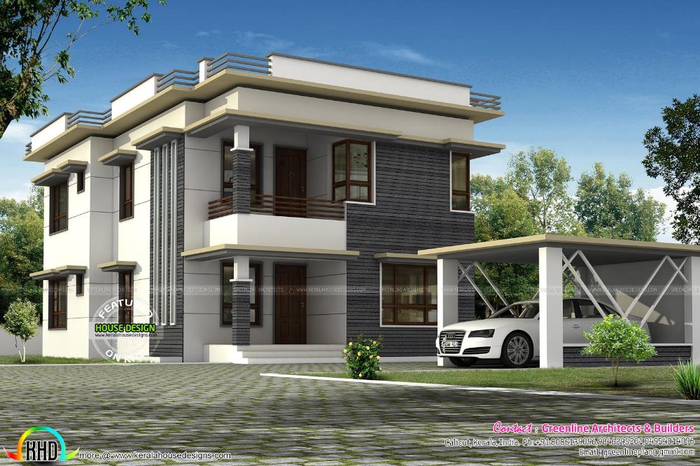 Modern House Design Separate Car Porch Google Search Tile
