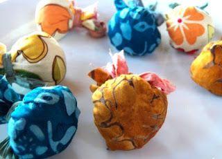 Live In Art: Homemade Moth Balls