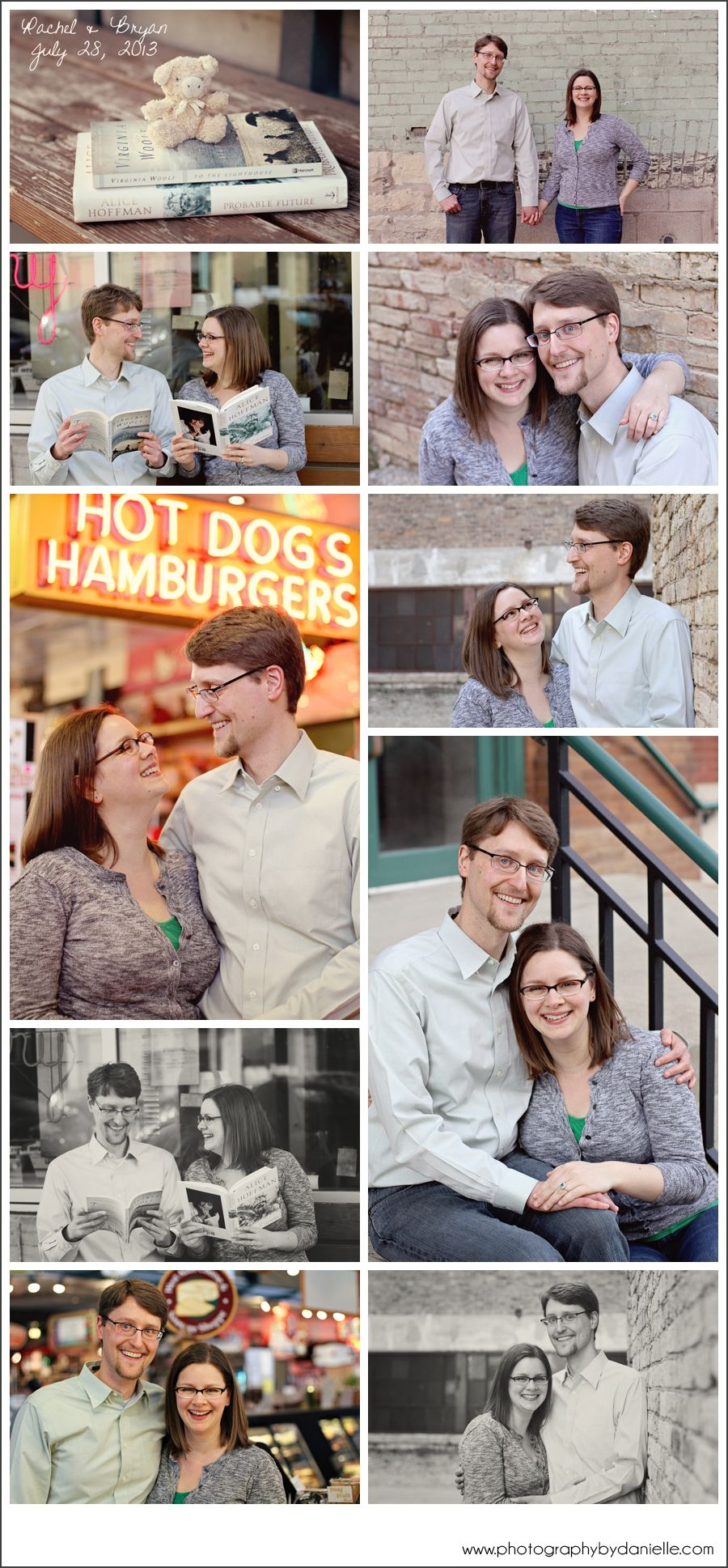 Milwaukee Engagement Session - Milwaukee Public Market and the Third Ward | Photography by Danielle, Milwaukee, WI