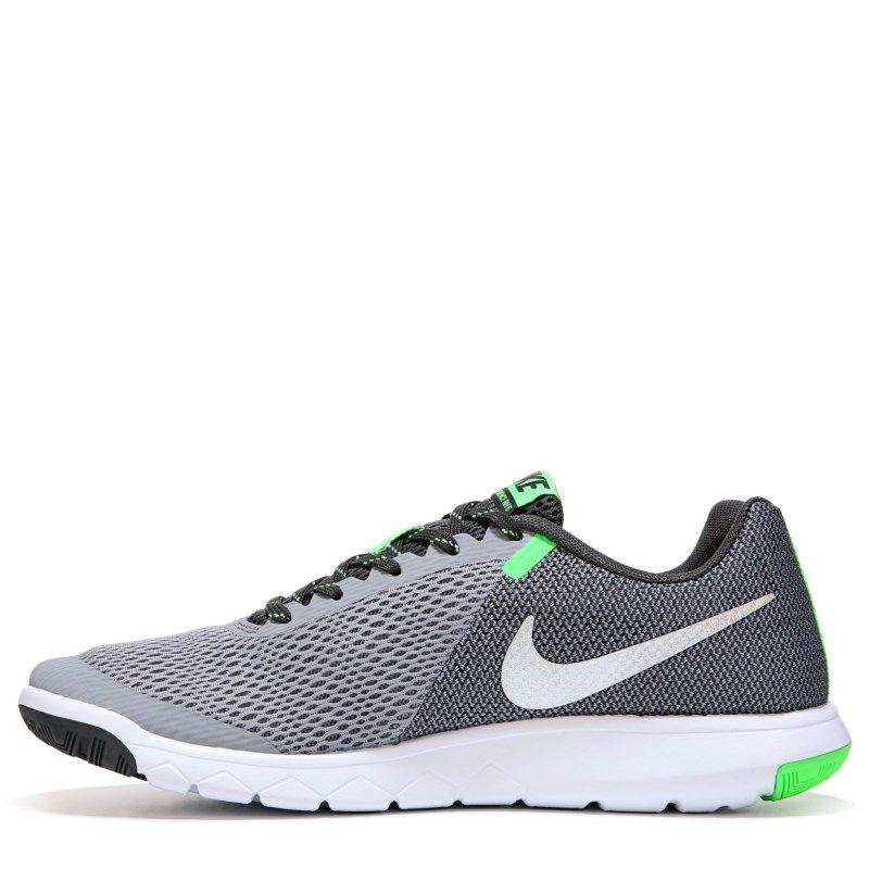 Nike Men's Flex Experience RN 5 Running Shoes (Grey/Green)