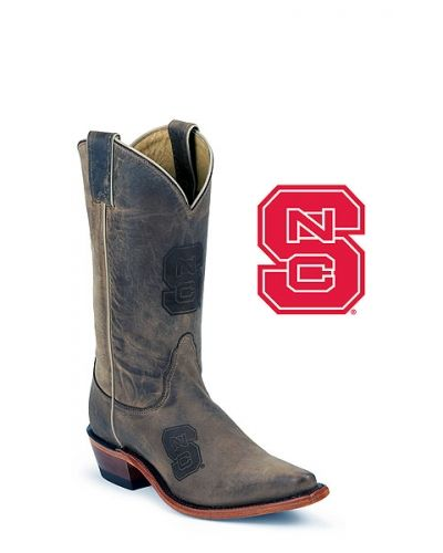 Women's North Carolina State University Snip Toe Branded Nocona Boots