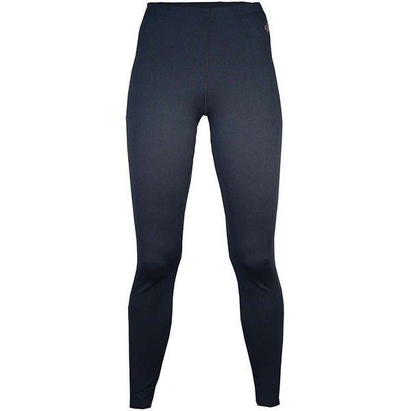 Hot Chillys Women's Micro-Elite Chamois 8K Solid Tight ($38) ❤ liked on Polyvore featuring black and hot chillys