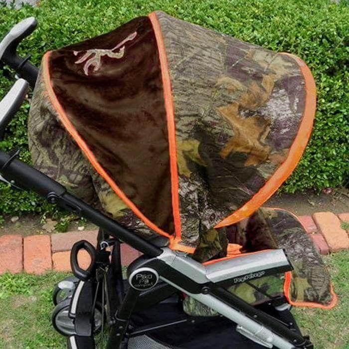 Mossy Oak Camo Stroller for baby boy