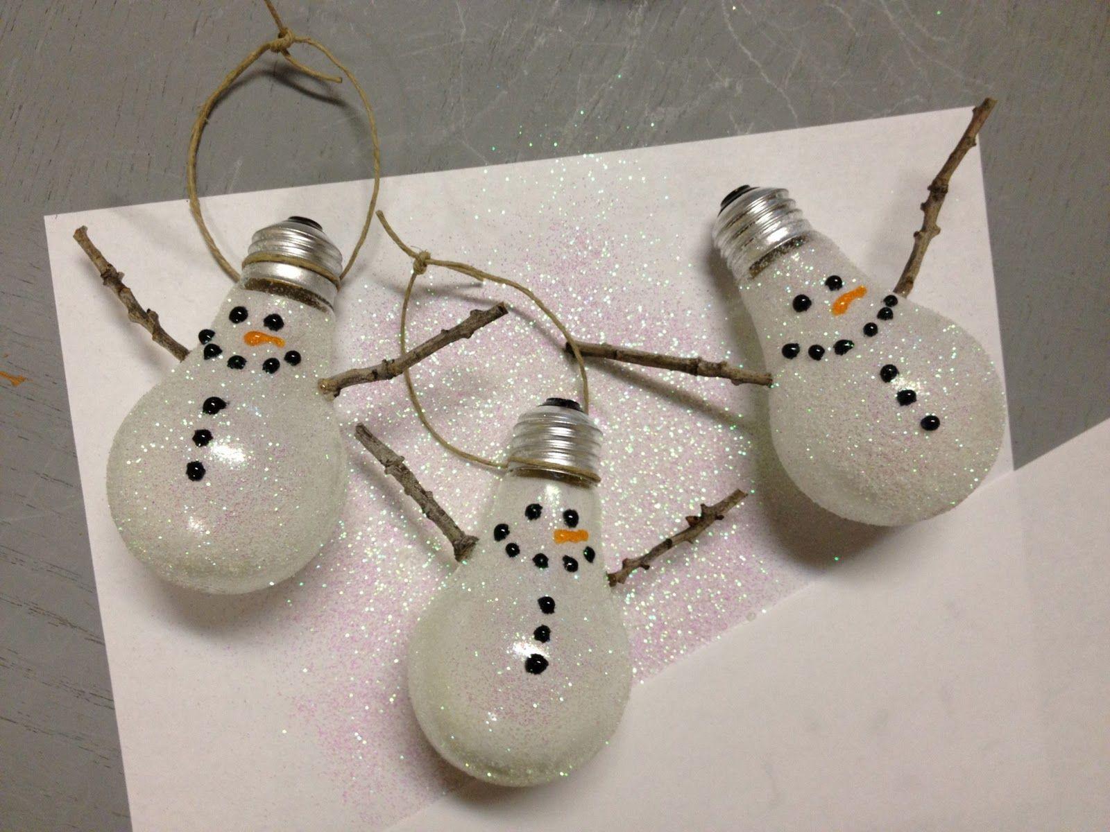 Snowman Ornaments!!
