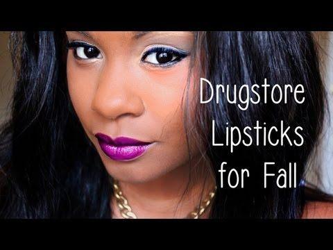 Fall Lipsticks For Dark Skin 2013 Drugstore