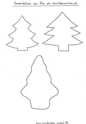 schablone tannenb ume jpeg grafik 300 429 pixel weihnachtsdeko zum. Black Bedroom Furniture Sets. Home Design Ideas