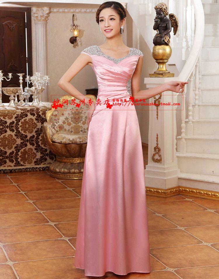 Aliexpress.com: Comprar Vestidos largos por la noche 2016 nueva moda ...