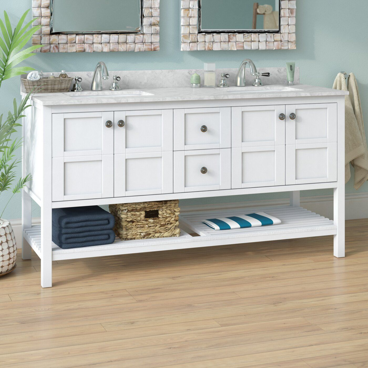Caldwell 60 Double Bathroom Vanity Set Vanity Set Design Your