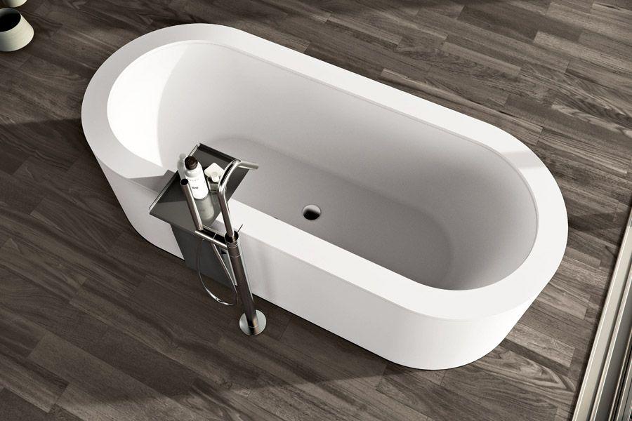 Vasca Da Bagno Sottopiano : Makro vasca sottopiano con bacino ovale look bathroom