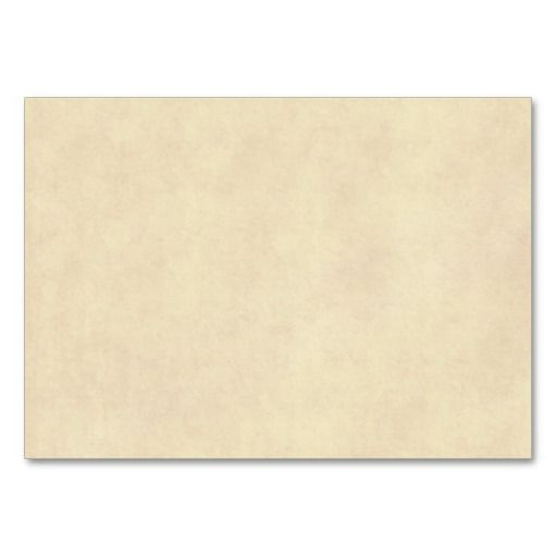 Vintage Neutral Parchment Old Paper Template Blank Business Card