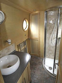 Shower Room Boat House Interior Canal Boat Interior Narrowboat