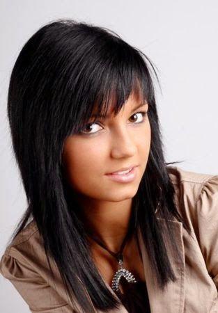 Épinglé par Myriam Cheikh sur cheveux | Pinterest | Cheveux, Coiffure et Coupe de cheveux