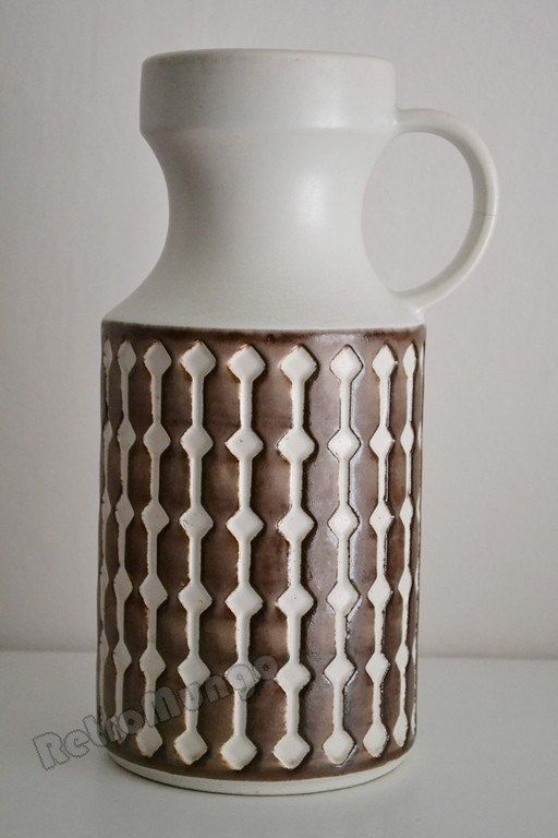 West German Pottery vase by Jasba  1640  28 by RetroMungo on Etsy, €45.00