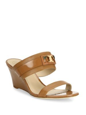 cacf680768f TORY BURCH Gigi Leather Wedge Sandals.  toryburch  shoes  sandals ...