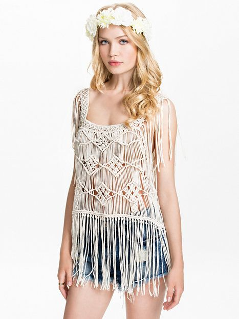 ... Womens-fashion Clothing Tops Denim & supply ralph lauren Macrame top