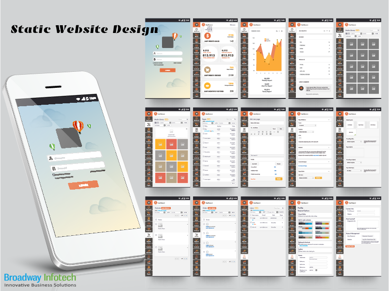 Broadway Infotech Proved Itself As The Most Reliable Web Design Company In Sydney Australia With Skill And Web Icons Website Design Company Web Design Company