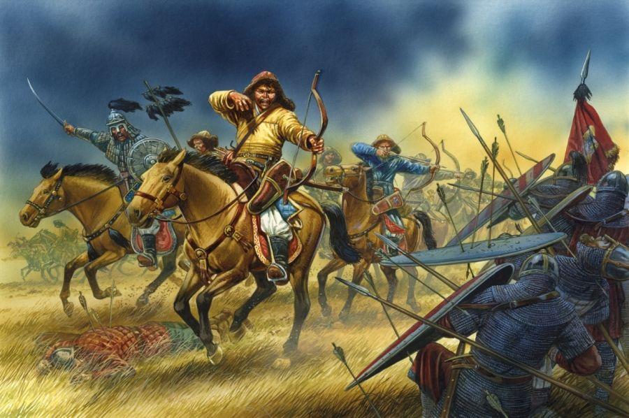 Картинки по запросу монголы в бою картинки