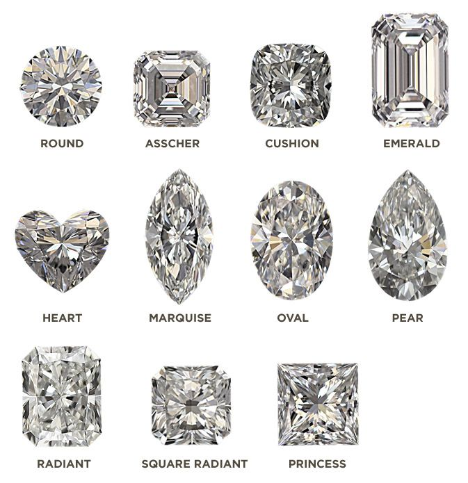Diamond shapes aucoin hart also wedding in engagement rh pinterest