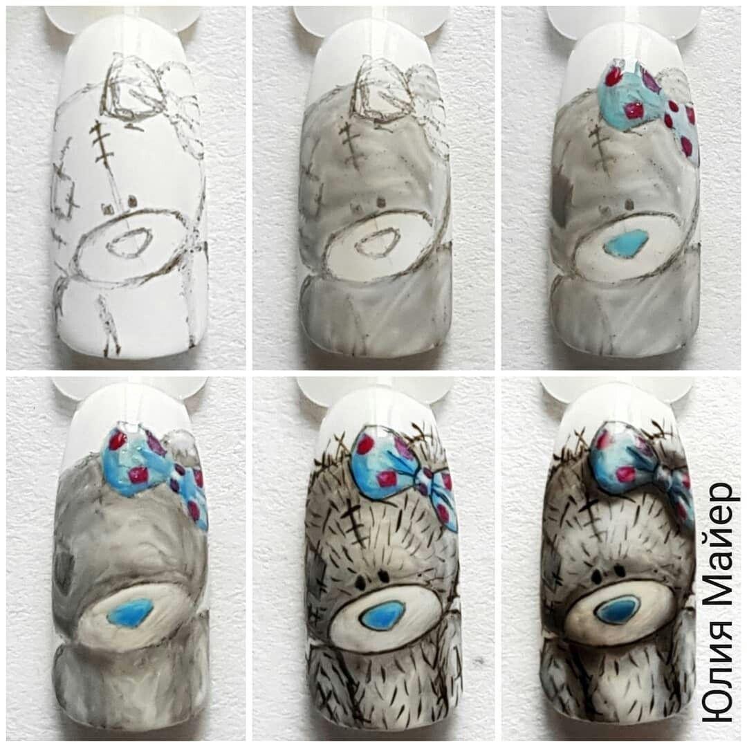 макс картинки мишек тедди на ногтях талант этой