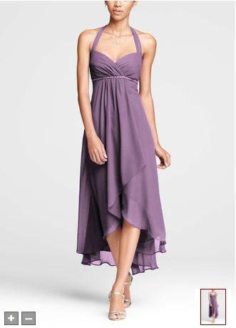 Bridesmaids' Wisteria Dress