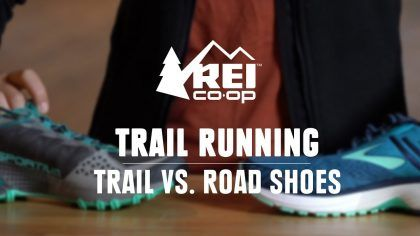 whats the difference between trail and road shoes  rei