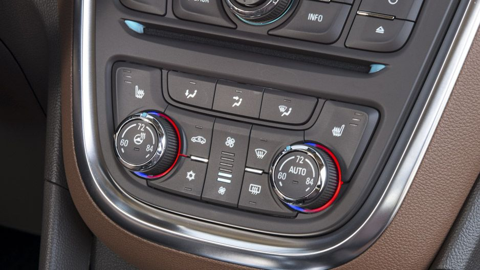 Buick Encore Dual Zone Automatic Climate Controls System Buick