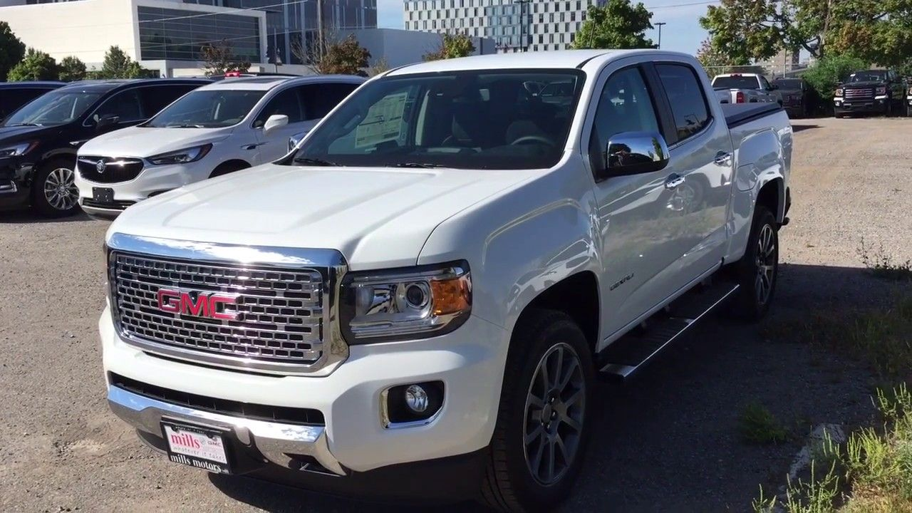 2019 Gmc Canyon Denali Gmc Canyon Gmc Denali Car