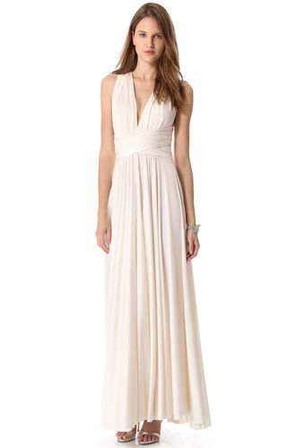 96f18c2642d33 12 Budget-Friendly & Alternative Wedding Dresses: Twobirds Convertible Maxi  Dress from Shopbop. #Stylish365