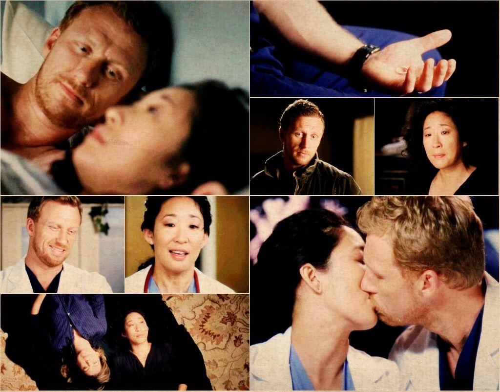 Christina Yang and Owen Hunt. Grey\'s Anatomy | TV Shows and Movies ...
