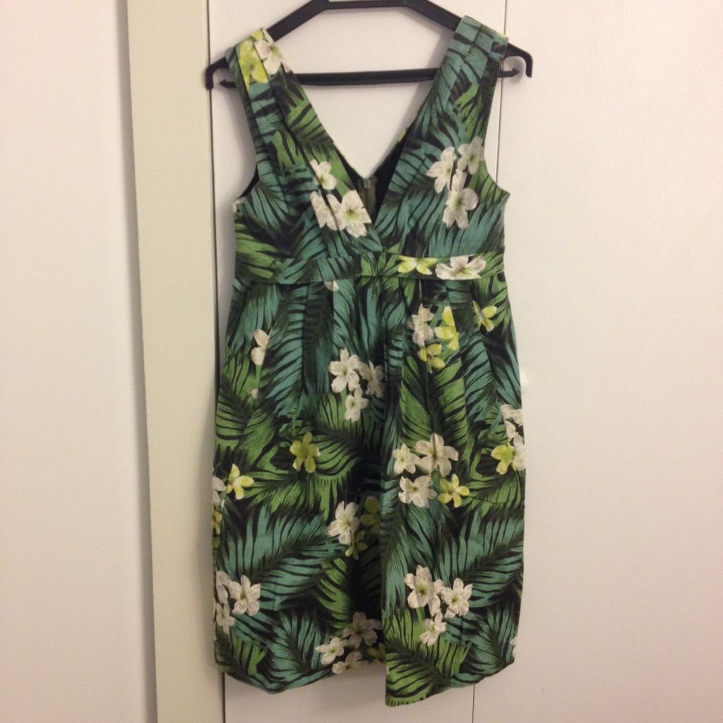 Emily And Fin Chloe Dress Jungle Print