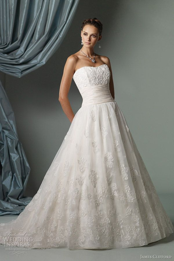 James Clifford Wedding Dresses — Spring 2012 Bridal Collection ...