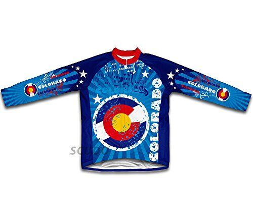 Colorado Long Sleeve Cycling Jersey for Men  Size XL >>> Click image to review more details. (Note:Amazon affiliate link)