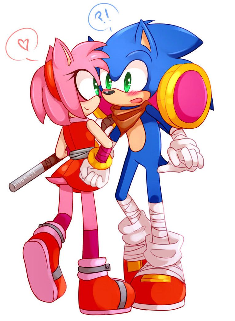 Amy Off Of Sonic i love that amy doesnt look fan-girly and annoying, but