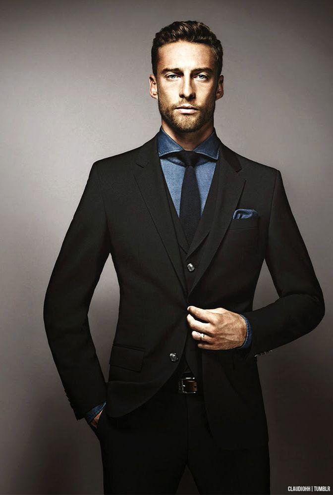 デニムシャツコーデ メンズ 特集 | Claudio marchisio, Men's suits ...