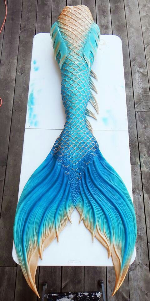 Finfolk tail | Blue mermaid tail, Mermaid tails